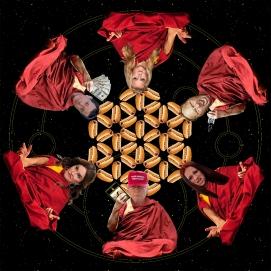 Pop Mandala - Back Image of Cover Art