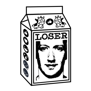 Milkman of Human Kindness: Zucc V2 - T Shirt Image